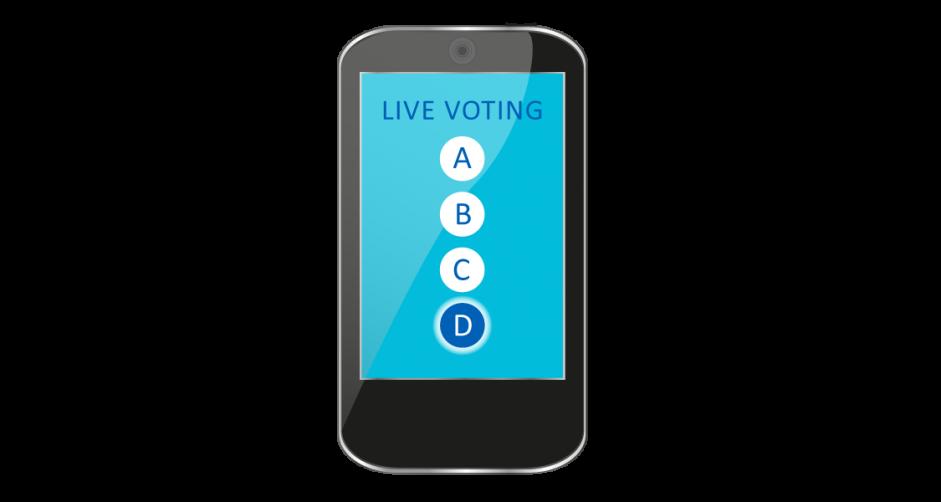 Live Voting – digital gestützte Interaktion im Hörsaal
