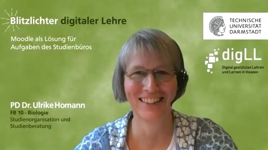 Studienbüro digital – mit Hilfe von Moodle – Blitzlichter digitaler Lehre Nr. 9