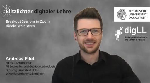 Coverbild Blitzlichter digitaler Lehre / FB 15 / Andreas Pilot / TU Darmstadt