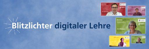Header Blitzlichter digitaler Lehre