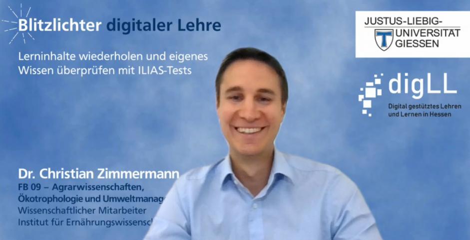 Lerninhalte wiederholen und eigenes Wissen überprüfen mit ILIAS-Tests – Blitzlichter digitaler Lehre Nr. 8