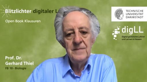 Coverbild Prof. Dr. Thiel Blitzlichter digitaler Lehre TU Darmstadt