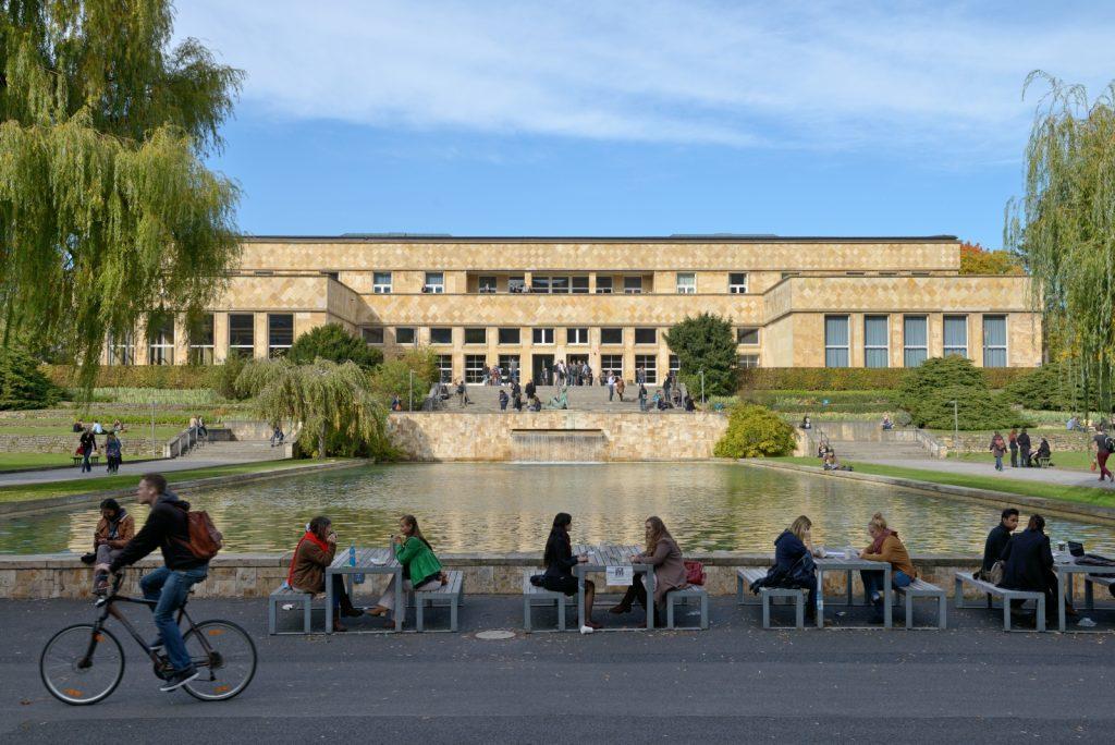 Der Tagungsort: Casinogebäude am Campus Westend der Goethe-Universität Frankfurt