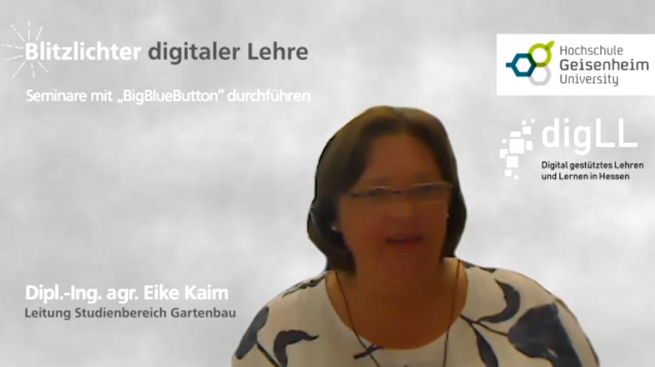 """Seminare mit """"BigBlueButton"""" durchführen – Blitzlichter digitaler Lehre Nr. 17"""