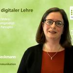 Coverbild Dr. Christine Beckmann - THM - Blitzlichter digitaler Lehre