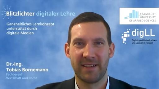Blitzlichter digitaler Lehre / Dr.-Ing. Tobias Bornemann / FRA-UAS / Coverbild