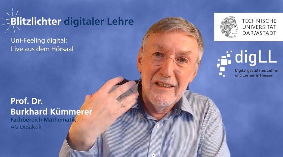 Runde 2 – Uni-Feeling digital: Live aus dem Hörsaal – Blitzlichter digitaler Lehre Nr. 32
