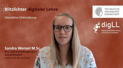 Blitzlichter digitaler Lehre /Dr. Judith Schilling / TUDa / Coverbild